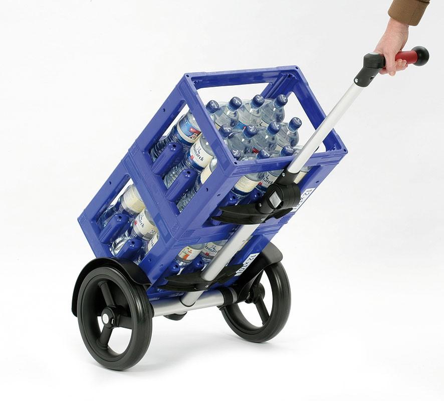 tura shopper gestell mit kugellager rad trolley gestelle andersen einkaufstrolley shop. Black Bedroom Furniture Sets. Home Design Ideas